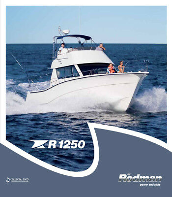 2004 RODMAN 1250 410WA Fishing Boat Offshore Diesel $150-$175K used market value