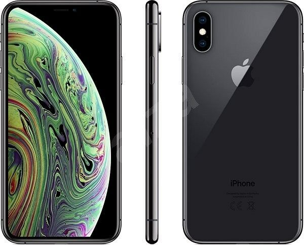APPLE IPHONE XS 64GB SPACE GREY NERO VIDEO 4K DISPLAY GARANZIA 24 MESI HD 5,8