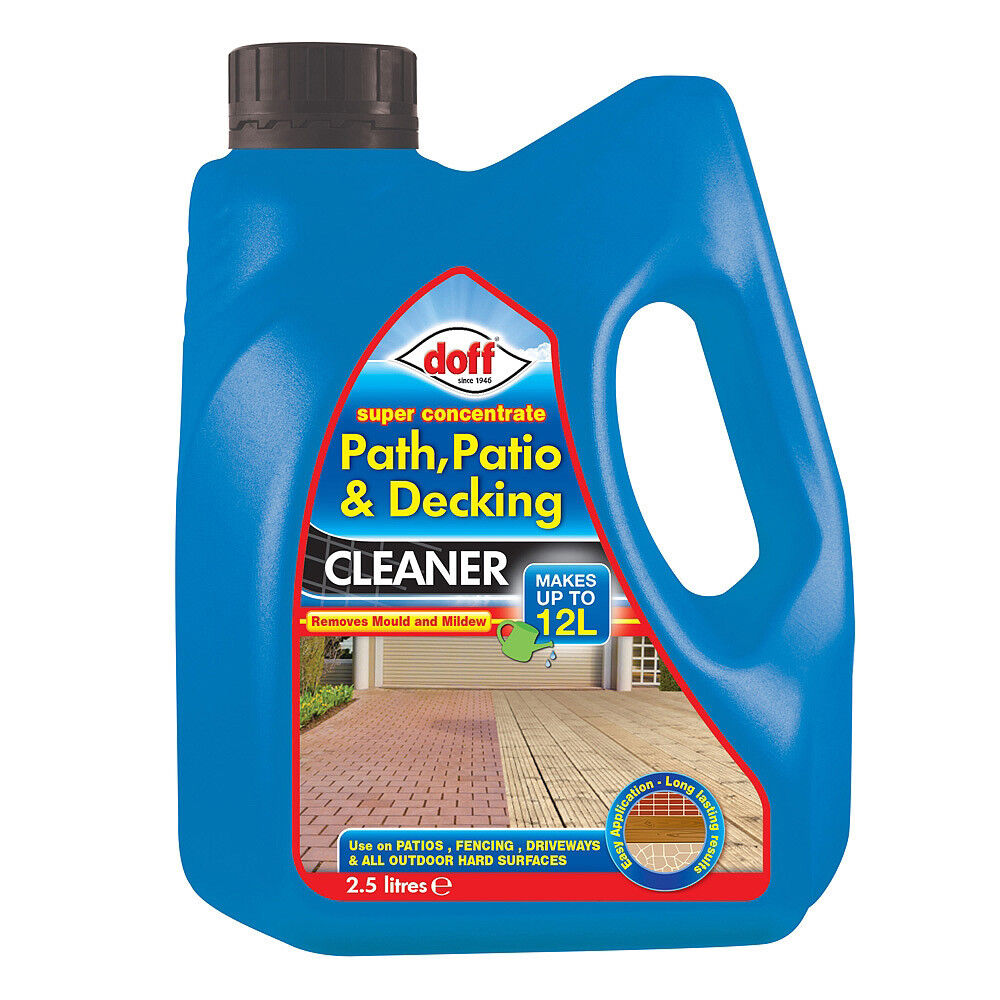 Doff Path, Patio & Decking Cleaner Super Concentrate 1.25L ...