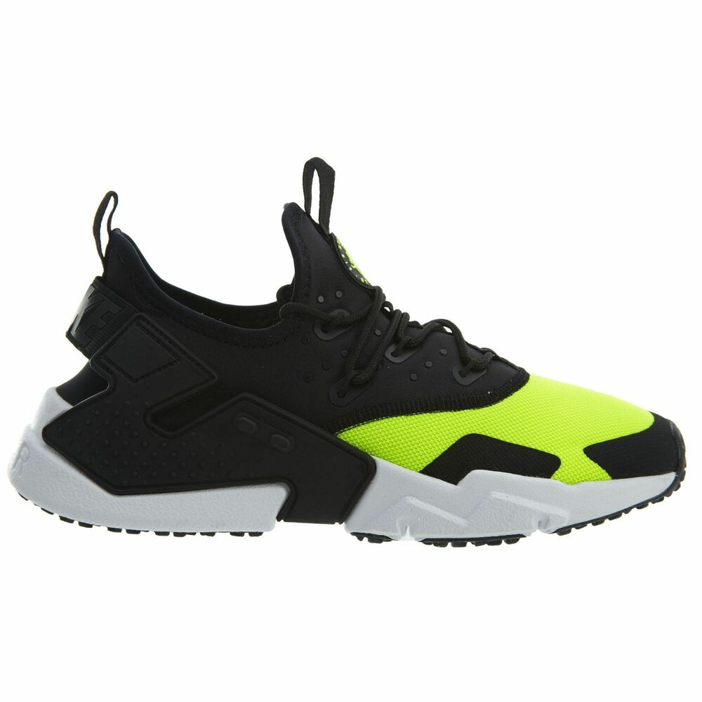 dcd04b79daea Details about Nike Air Huarache Drift Mens AH7334-700 Volt Black White Running  Shoes Size 8.5