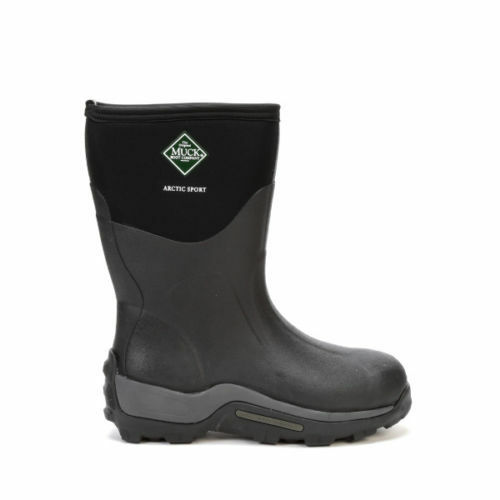 2cf621831 Details about Muck Arctic Sport Mid Insulated Winter Boots Black ASM-000A  Size 7