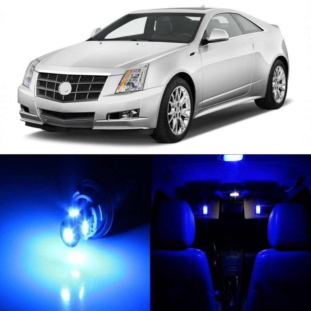 19 X Blue LED Interior Light Package For 2008