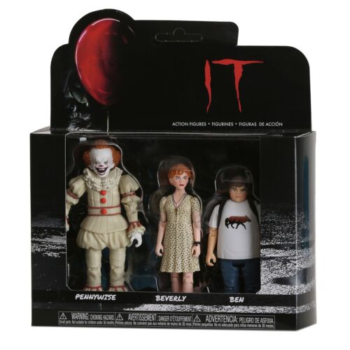 Funko Action Figures: IT Set 1 - Pennywise, Beverly, and Ben Item #30011