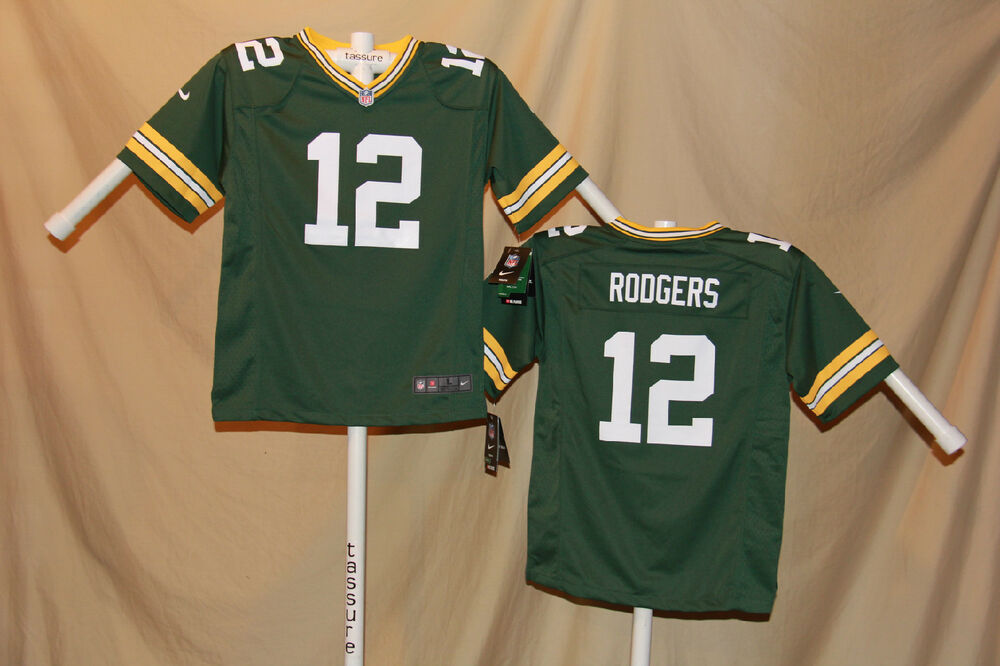Details about AARON RODGERS Green Bay Packers NIKE Game JERSEY Youth Medium  NWT  70 retail gr 24a8062f404