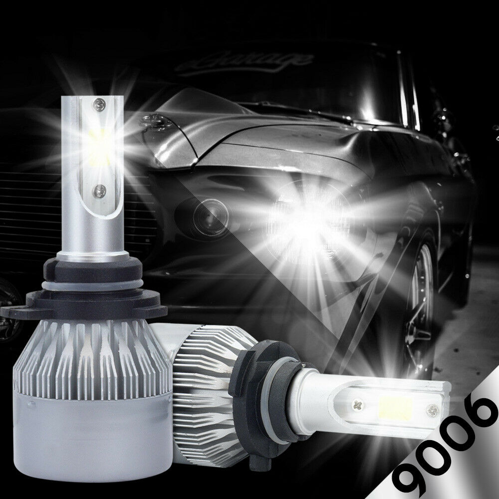 XENTEC LED HID Headlight Conversion Kit 9006 6000K For