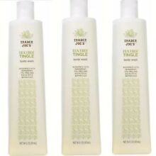 3 Trader Joe's Tea Tree Tingle Body Wash Peppermint Eucalyptus (3) 16 Oz Bottles