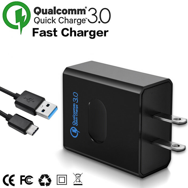 Details About 18w Qc 3 0 Fast Phone Charger Adapter Wall Plug Tablet Car For Samsung Eu Uk Us