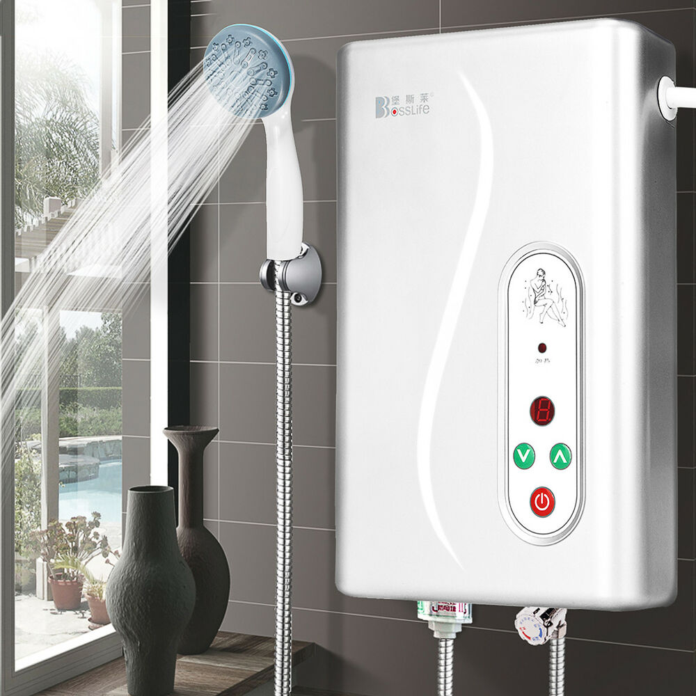 Electric Bathroom Heaters Uk: Instant Electric Water Heater Tankless Shower Caravan