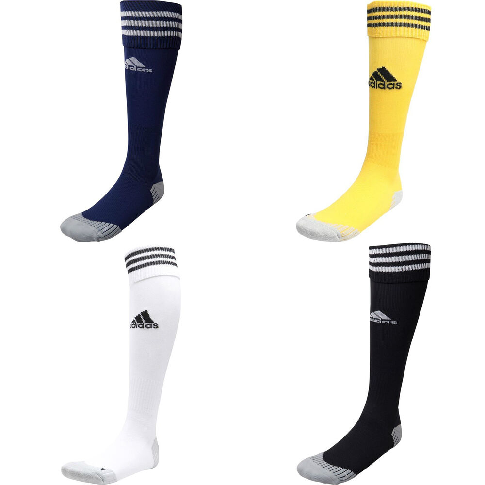 b787cf3ac6cf Details about Adidas Adisock Socks NEW Mens JNR ADULT 3 Stripe Football  Soccer Sports