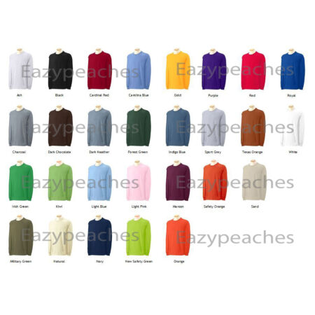 img-Gildan Neuf Adulte Ultra 100% Cotton T-Shirt Manches Longues TAILLE HOMMES S-5xl