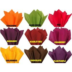 THANKSGIVING FALL Color Gift Grade Tissue Paper 15 x 20'' Choose Color & Amount