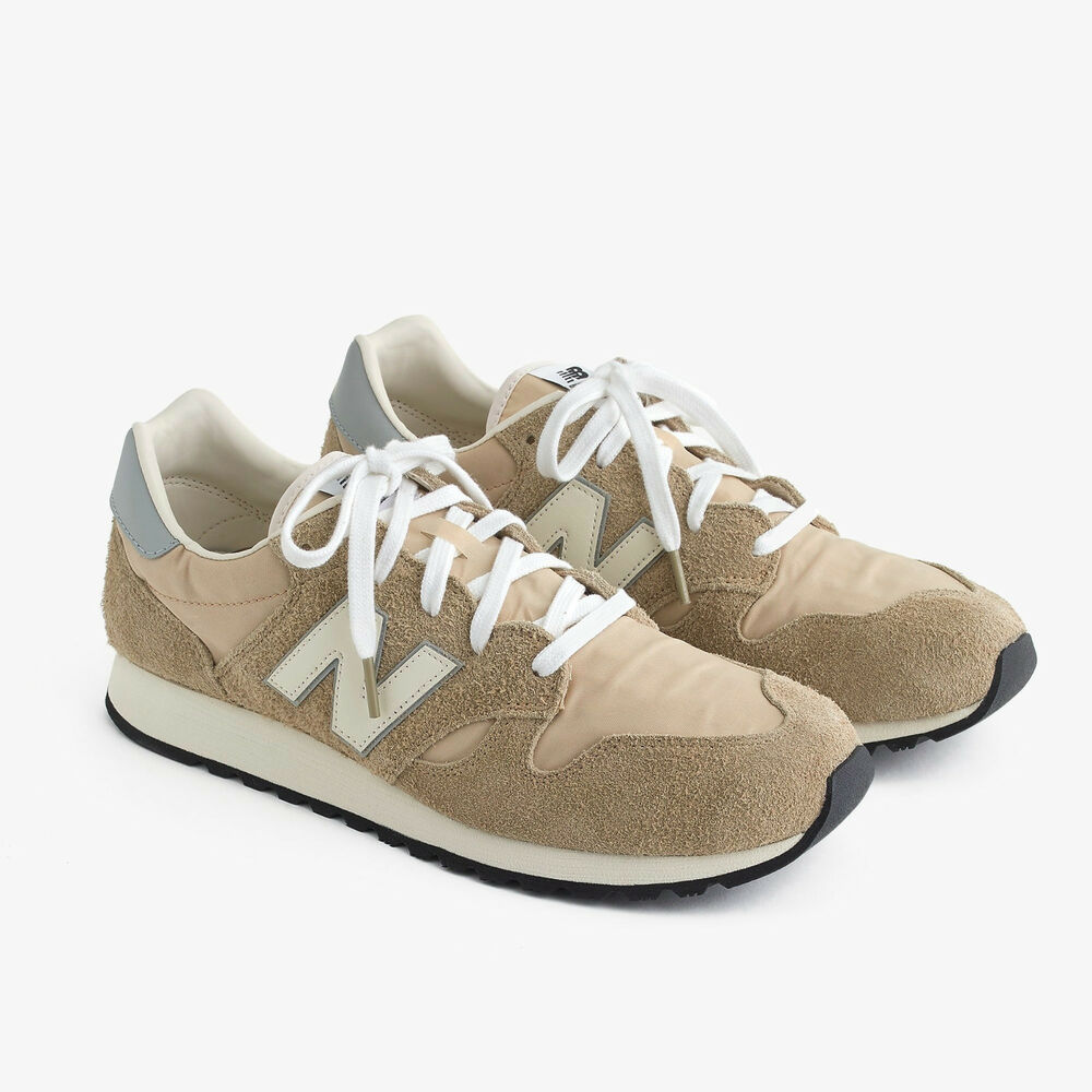 557446725635 Details about New Balance for J. Crew Classic 520 Sneakers Shoes in Hairy  Suede Vintage 9.5