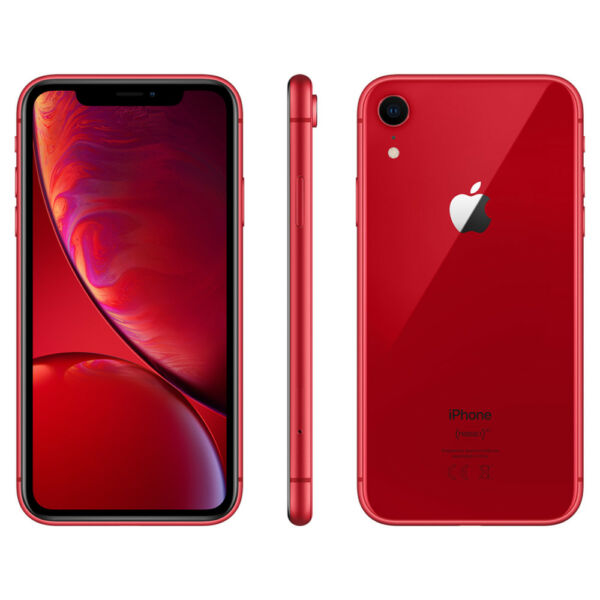 APPLE IPHONE XR 64GB ROSSO 6.1  NUOVO RED GAR 24 MESI SMARTPHONE 64 GB X R