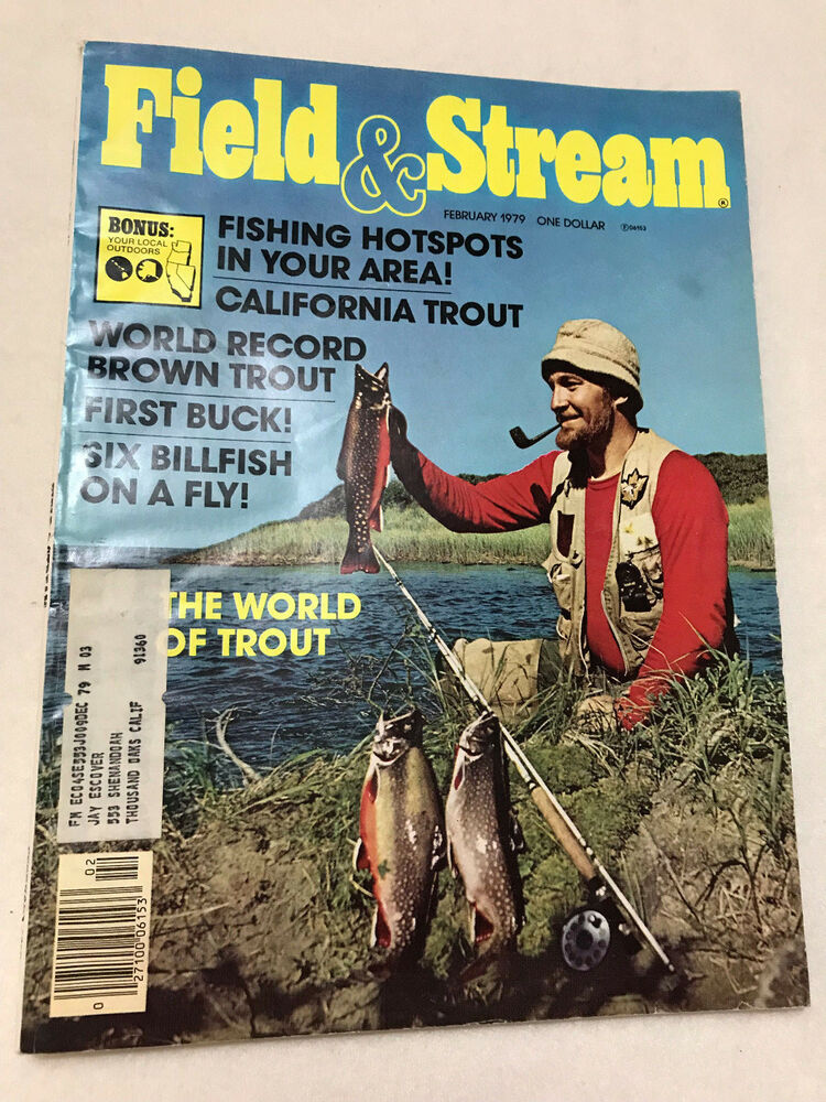 6d027ed43332 Details about FIELD   STREAM MAGAZINE FEB. 1979