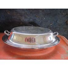 ANTIQUE GORHAM SILVERPLATE COVERED TUREEN Y426/4..10.75