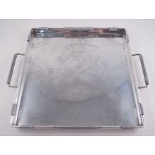 JAUME MERCADE QUERALT SPANISH .916 SILVER TRAY BALLERINAS PIERROT NOT STERLING