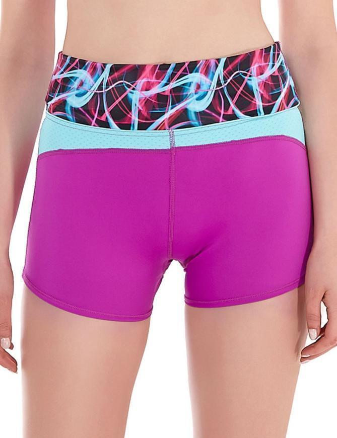 2dcc44a7d9090 Details about FREYA ACTIVE EPIC SHORTS RUNNING GYM S M 10 12 14 ULTRA  VIOLET PURPLE SPORT 4009