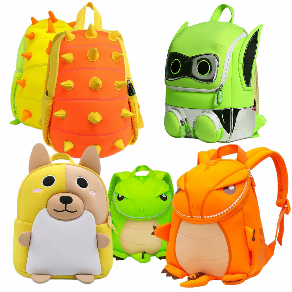 Details about NOHOO Kindergarten 3D Cartoon Sidekick Bag Kids Jurassic Backpack  Puppy Dog Pals c9599f1a07bd2