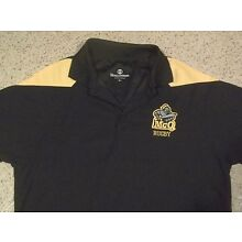 McQUAID KNIGHT McQ RUGBY SEWN POLO KNIT SHIRT-SM HIGH SCHOOL NEW YORK NY JESUIT