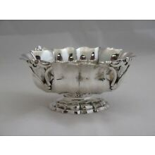 Heavy Antique European Sterling Silver Sauce Boat