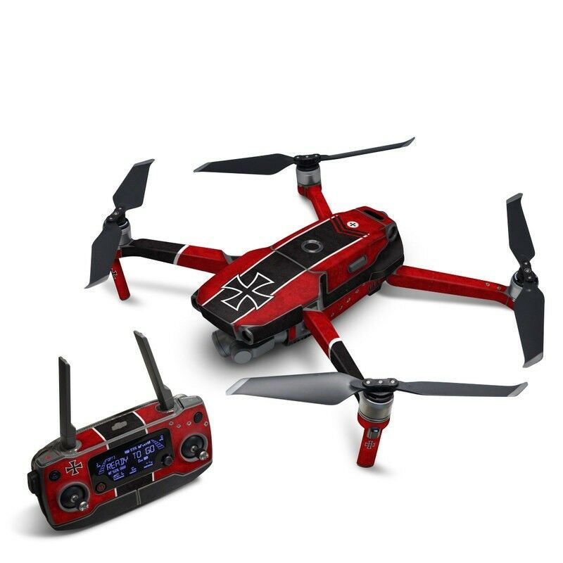 8c3f9af0220 Details about DJI Mavic 2 Wrap - The Baron by Drone Squadron - Sticker Skin  Decal