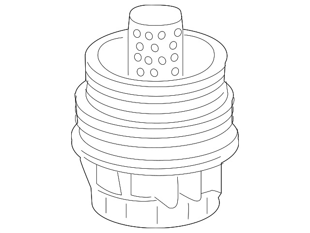 Genuine Toyota Oil Filter Housing 15620 36020