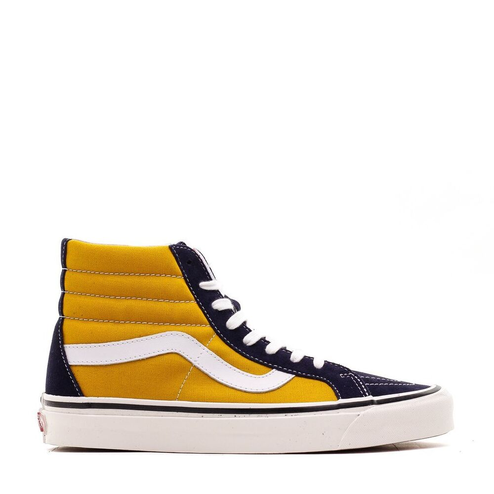 Details about Men s Brand New Vans Sk8-Hi 38 Dx Athletic Fashion Sneakers   VN0A38GFUBT  efe83eae5f8a0