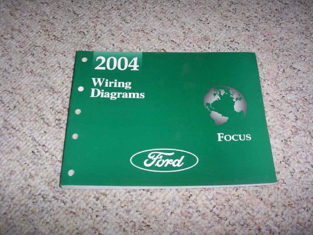details about 2004 ford focus electrical wiring diagram manual zx3 zx5 se  ztw lx zts 2 0l 2 3l