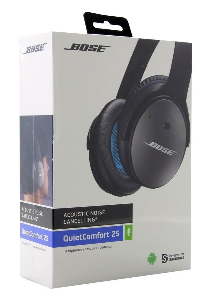 b686568e020 Details about BOSE QuietComfort 25 for Samsung & Android QC25 Noise  Cancelling Headphones NEW