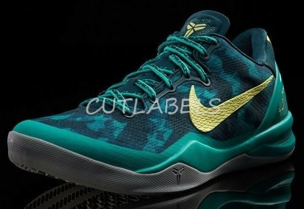 new style e7e22 60b7b Details about NIKE + KOBE 8 Supernatural 587551 System Basketball Shoes  Atomic Teal 17