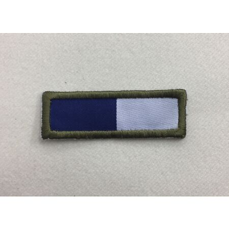 img-Royal Signals TRF Badge, R Sigs Blue & White Army Patch, Military, Hook Loop
