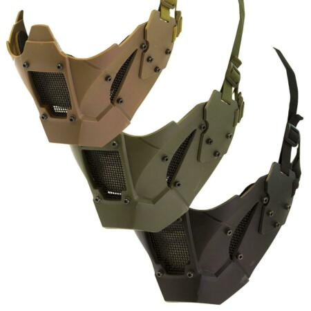 img-Nuprol Airsoft Jay Style FMG Fast Mask Helmet Face Mask Softair bb's 6032