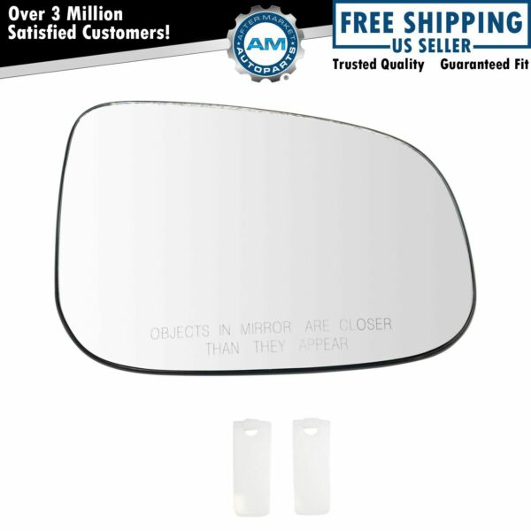 Mirror Glass Heated Passenger Side Right RH for Volvo C30 C70 S40 S60 S80 V50