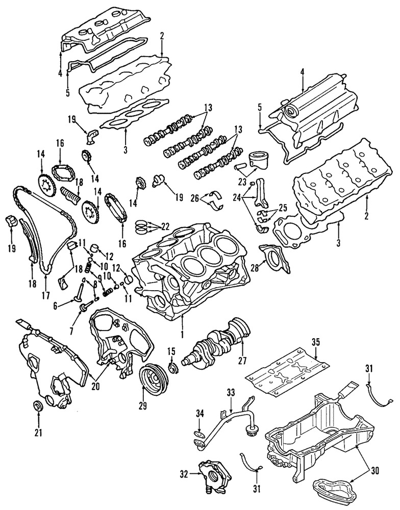 Nissan Vq30 Engine Diagram Of The