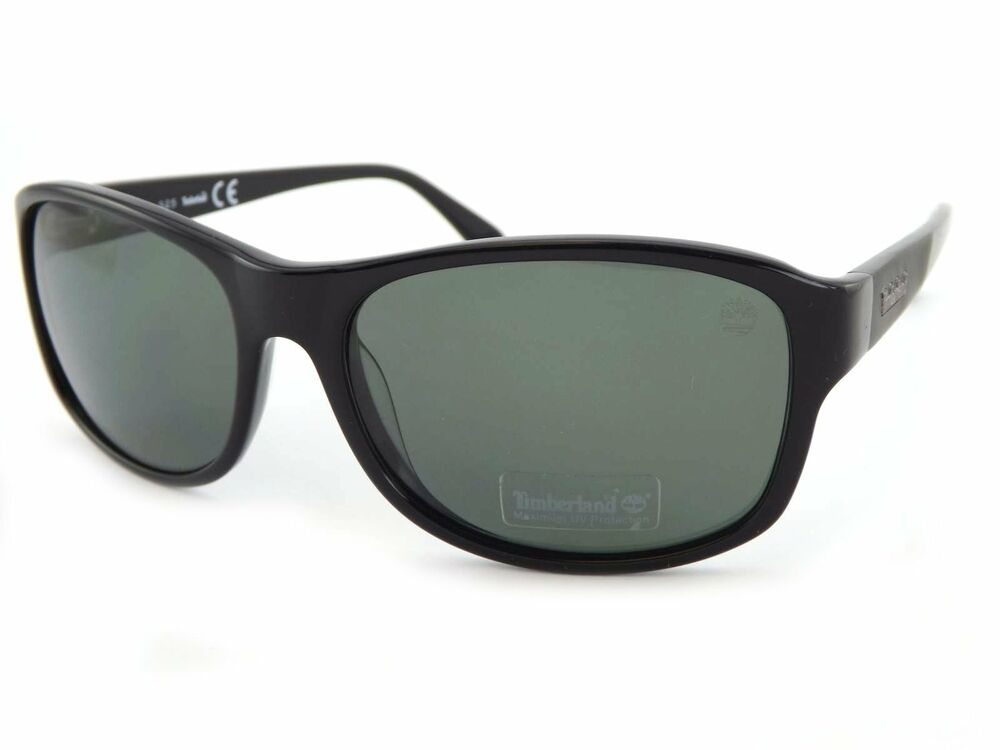 5bc3fe9eee9 Details about TIMBERLAND Polarised Sunglasses Shiny Black   Grey Polarized  TB9062 S 01D