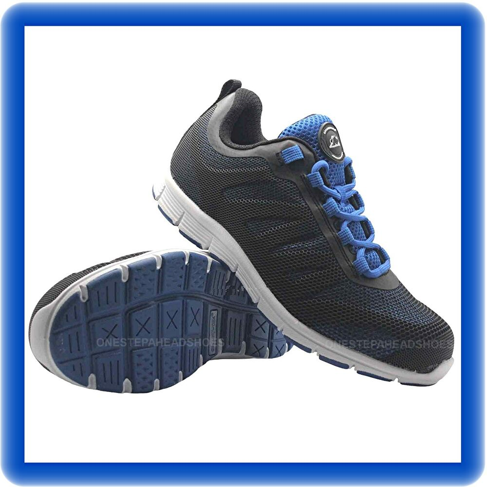 reputable site 9b9b1 728f0 Details about NEW MENS ULTRA LIGHTWEIGHT STEEL TOE CAP SAFETY TRAINER SHOES  WORK SIZE UK 7