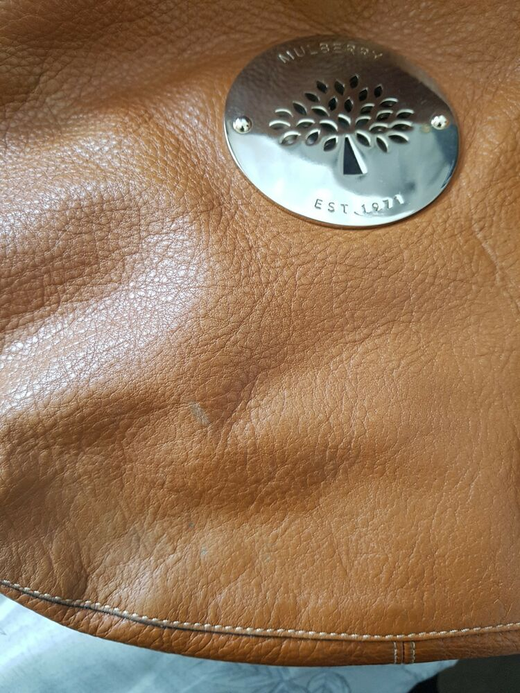Details about Mulberry Daria Medium Hobo Bag in an oak colour -soft spongy  leather 151e98bd1ab20