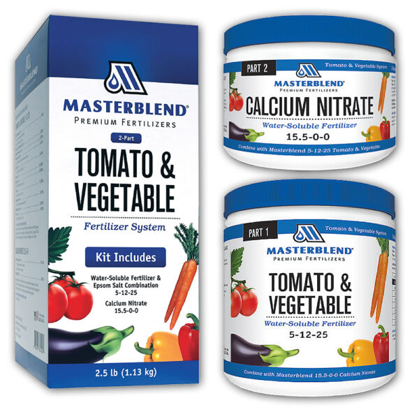 MASTERBLEND Official 4-18-38 Tomato & Vegetable Fertilizer COMBO KIT