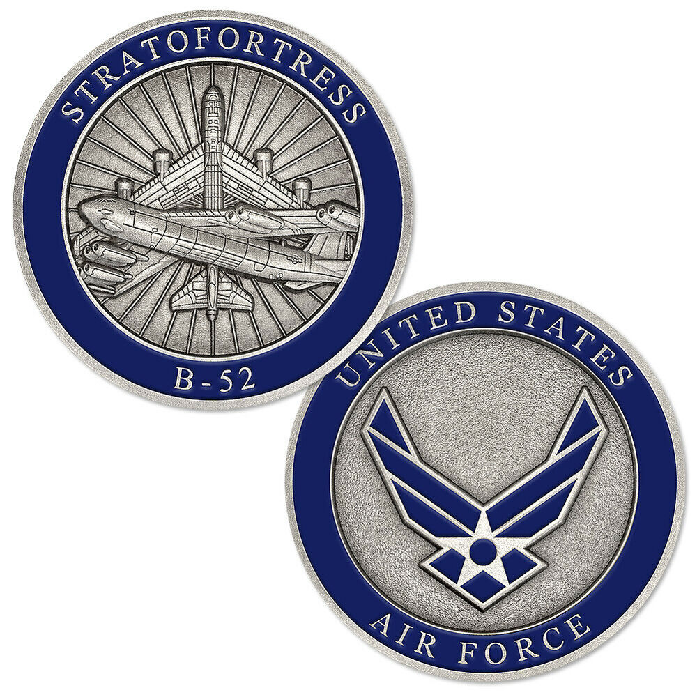 Boeing B 52 Stratofortress Of The U S Air Force History: NEW USAF U.S. Air Force B-52 Stratofortress Challenge Coin