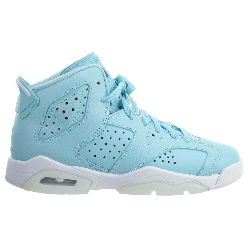 2361a745296 Details about Air Jordan 6 Retro Pantone Big Kids 543390-407 Still Blue  Shoes Youth Size 6.5