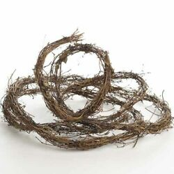 15 Feet of Eco Friendly and Naturally Dried Grapevine Twig Garland