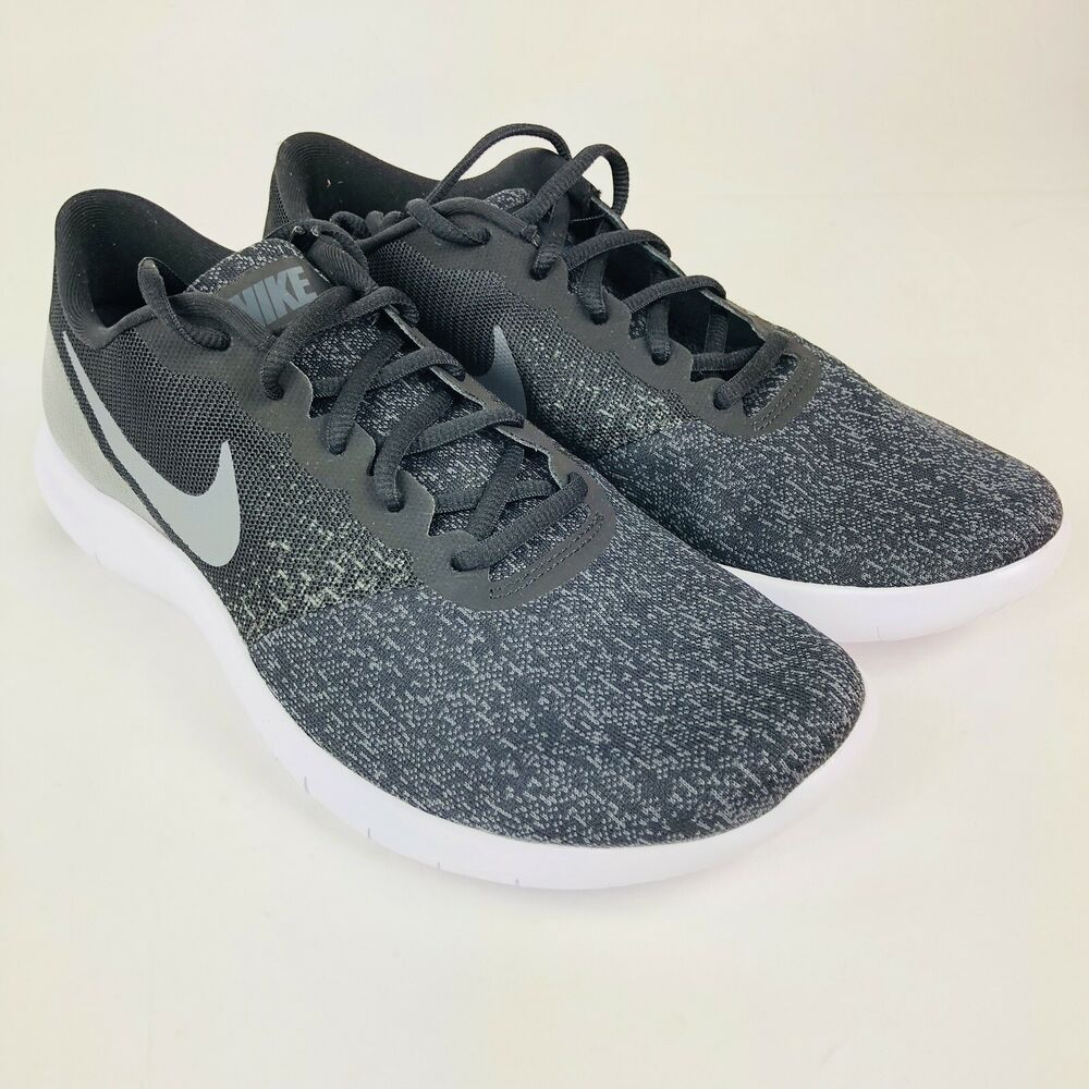 deadd35a72c2f Details about Nike Flex Contact Mens Running Shoes 908983-002 Size 10 Black  Dark Grey New