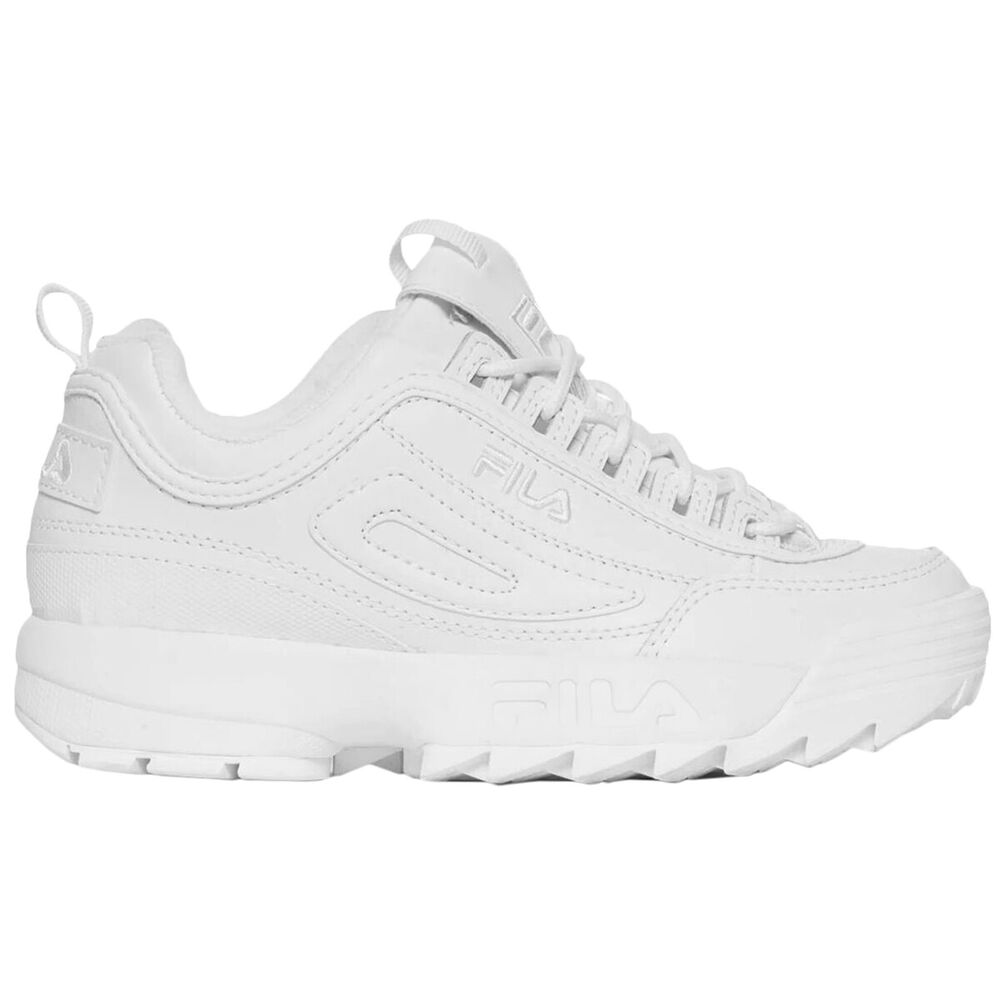 0dcf461eee52 Details about Fila Disruptor II Synthetic Casual Low-Top Sneakers Youth  Trainers