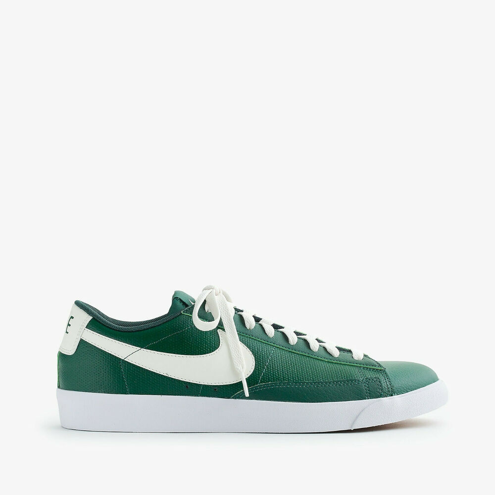 newest aab14 f2669 Details about Nike Blazer for J. Crew Men s Classic Sneakers Shoes  Green White NEW US 11