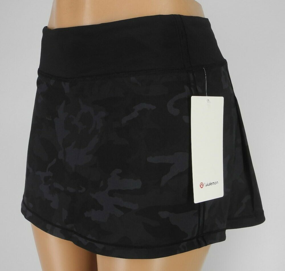 NEW LULULEMON Pace Rival Skirt 2 4 6 8 10 12 Incognito