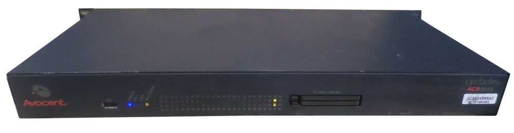 AVOCENT CCM4850 BOOT DRIVERS PC