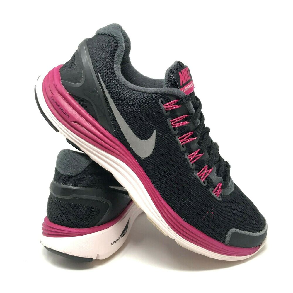 2ed2717e1bb8d Details about Nike Lunarglide 4 Athletic Running Shoes - Women s Size 9.5  (524978-006)