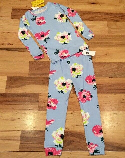 088f4a5cc Details about Baby Gap Girls Factory Size 5 / 5T Blue & Pink Floral 2-Piece  Pajamas. Nwt