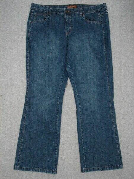 ac93e2bc Details about OD15401 ***LEE*** ONE TRUE FIT BOOT CUT WOMENS JEANS sz20WM