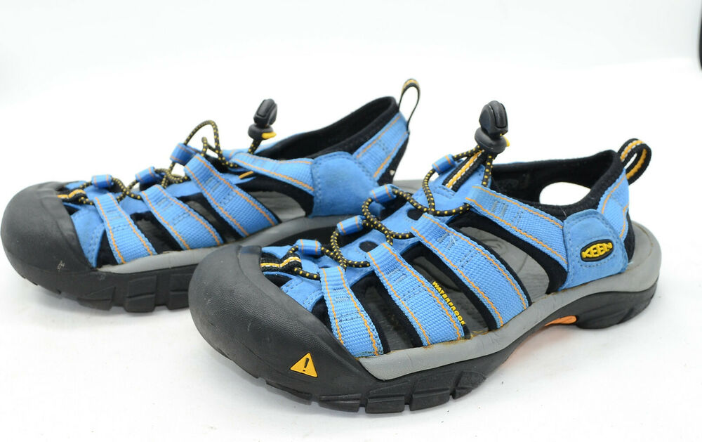 9158ee0f0bfb Details about Keen Newport Womens Sz 7.5 Blue Running Trail Hiking  Waterproof Sport Sandals